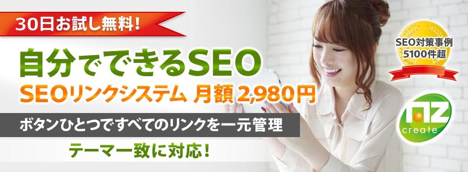 【インフォトップ版】SEOリンクシステムの導入で自分でSEO対策ができる!