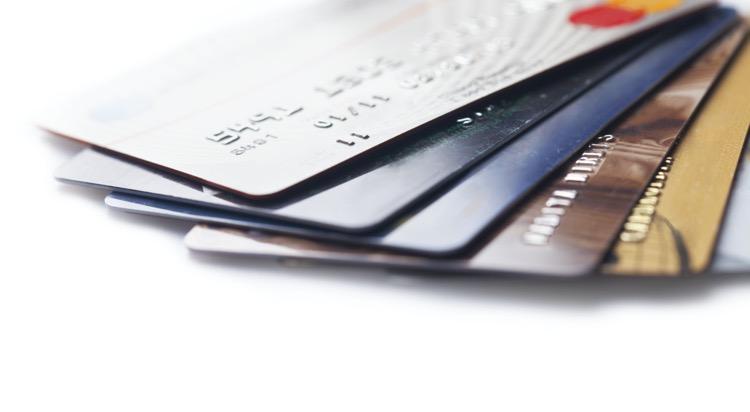 複数のクレジットカード